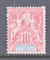 FRENCH  OCEANIA  7     * - Oceania (1892-1958)