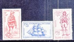 FRENCH  OCEANIA  B 11- 12A     *  VICHY - Oceania (1892-1958)