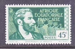 FRENCH  A.E.F.  47     * - Unused Stamps