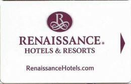 Renaissance Hotels - Hotel Keycards