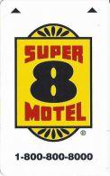 Super 8 Motel - Hotel Keycards