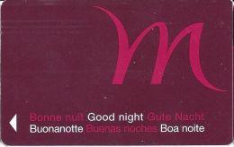 Good Night Hotel Room Key Card - Hotel Keycards