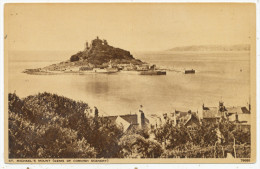 St. Michael's Mount (Gems Of Cornish Scenery) - St Michael's Mount