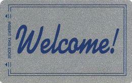 Generic Welcome Room Key Card By Kustom Key - Hotel Keycards