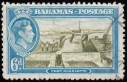 BAHAMAS - Scott #107 Fort Charlotte (*) /Used Stamp - Bahamas (...-1973)