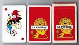 JEU DE 32 CARTES + 1 JOKER AVEC ETUI LE PROGRES RIK CURSAT CARTES A JOUER HERON MADE IN FRANCE - Cartes à Jouer Classiques
