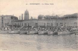 NORD  59  DUNKERQUE  LA DEFENSE MOBILE  BATEAUX - Dunkerque