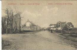 Woesten Ruines Entrée Du Village   (2842) - Guerre 1914-18