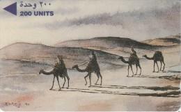 Bahrain - Paintings - Camel Caravan - 3BAHD - Bahrain