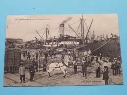 Le Travail Au Port ( 89 / Cayez ) / Anno 1911 ( Zie Foto´s Voor Details ) !! - Dunkerque