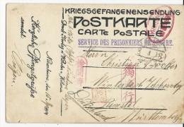 1918 -CAMP DE PRISONNIER De NINOSHIMA/HIROSHIMA (JAPON)-TRES RARE CARTE IMPRIMEE AU CAMP EXPEDIEE Par Un MARIN ALLEMAND - Brieven