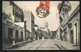 ALGER  - Saint-Eugène- La Rue Malakof - Animée - Recto Verso - Paypal Free - Algeri
