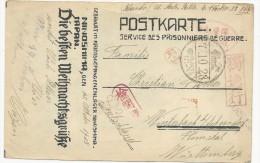 1918-CAMP DE PRISONNIER à NINOSHIMA/HIROSHIMA (JAPON)- RARE CARTE IMPRIMEE AU CAMP EXPEDIEE Par Un MARIN ALLEMAND - NOËL - Brieven En Documenten