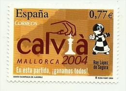 2004 - Spagna 3640 Olimpiadi Degli Scacchi, - Scacchi