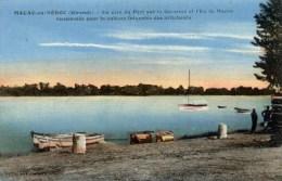 33 MACAU Un Coin Du Port Sur La Garonne  Et L´Ile - Frankreich