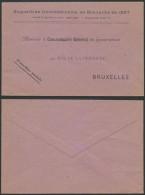 FA927 Lettre Exposition Internationale De Bruxelles 1897 - Sonstige
