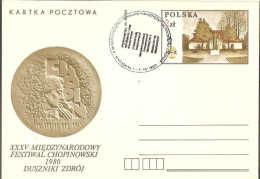 POLOGNE  -  POLAND  -  1980  -  FESTIVAL CHOPIN - Musica