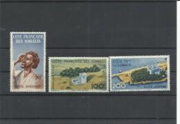 COTE SOMALIS YVERT AEREO 20/22   MNH  ** - Côte Française Des Somalis (1894-1967)