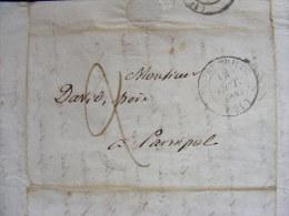 Lettre Marque Postale - St Brieuc 1843 Paimpol - Où Il Est Question Des Communes Autour De Paimpol  M1 - Marcophilie (Lettres)