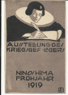 1919 - CAMP DE PRISONNIER à NINOSHIMA/HIROSHIMA (JAPON)- RARE CARTE IMPRIMEE AU CAMP EXPEDIEE Par Un MARIN ALLEMAND - Brieven
