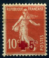 FRANCE -  1914 YVERT N° 146 NEUF AVEC CHARNIERE COTE 6E - Nuovi