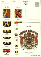 BELG.1980 BK15-27 150 Jaar Onafhankelijkheid Van België - Wapenschilden Der Provincies - Reeks Van 13 Briefkaarten - Stamped Stationery