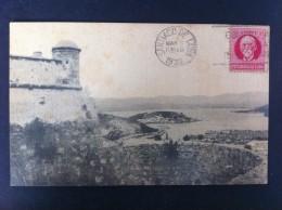 CAYO SMITH DESDE EL MORRO POSTAL CIRCULADA A VALENCIA 1930 - Postales