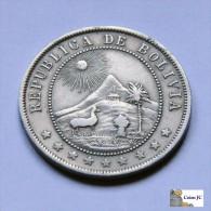Bolivia - 10 Centavos - 1909 - Bolivië