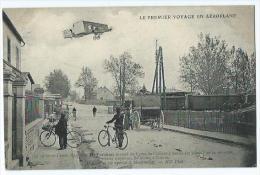 Le Premier Voyage En Aeroplane Le 30 Octobre 1908 L'aviateur H Farman - ....-1914: Précurseurs