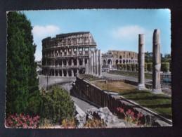 CARTOLINA ITALIA COLOSSEO FORMATO GRANDE - Altare Della Patria
