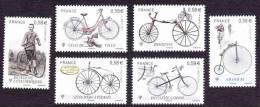 France N° 4555,à 4560 ** Le Vélocipède - Bicyclette, Draisienne, Grand Bi, Vélo De Vllle,.... - Unused Stamps