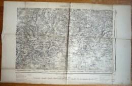 CARTE TOPOGRAPHIQUE ANCIENNE VALENCAY SE IMP DU SERVICE GEOGRAPHIQUE DE L'ARMEE  MAJ En 1885 - Cartes Topographiques