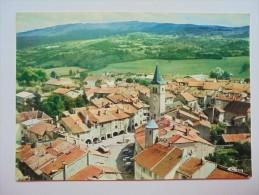 C P COULEUR  ARINTHOD LA PLACE LES ARCADES ET L'EGLISE - Otros Municipios