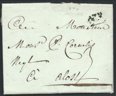 """L 1789 Marque ATH +""""3"""" Pour Alost - 1789-1790 (Révol. Brabançonne)"""
