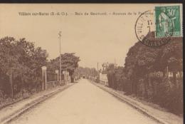 CPA:Villiers-sur-Marne:Bois De Gaumont:Av. De La Favorite - Villiers Sur Marne