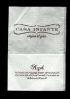 Tovagliolino Da Caffè - Casa Infante Gelati ( Napoli ) - Tovaglioli Bar-caffè-ristoranti