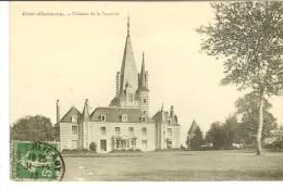 Cour-Cheverny, Chateau De La Taurerie - Timbre  Recto Semeuse Camée 5c 1913 - France