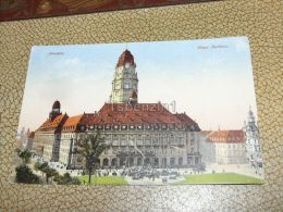 Dresden, Neues Rathaus, Germany - Dresden