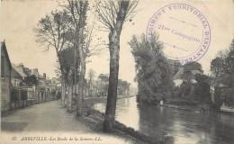 ABBEVILLE - Les Bords De La Somme, Cachet Militaire 107 Régiment Territorial D'infanterie. - Abbeville