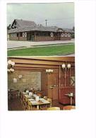 NE, Columbus, Nebraska - The New Husker Steak House - 1970 - Salle à Manger Restaurant Lustre Style Lampe à Pétrole - Columbus