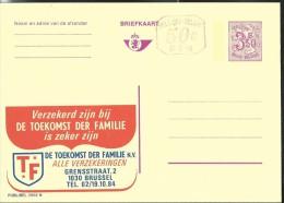 Publibel Neuve N° 2562 + P 010 ( Assurances: Toekomst Der Familie- Brussel) - Publibels