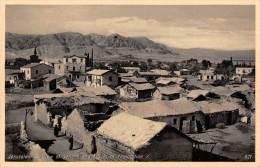 "04924 ""JERUSALEM - VIEW OF JERICHO AND MOUNT OF TEMPTATION - JORDAN HOTEL"" ANIMATA. CART. POST. ORIG. NON SPEDITA - Palestina"