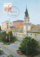 D21976 CARTE MAXIMUM CARD 1984 YUGOSLAVIA - KIKINDA CP ORIGINAL - Architecture