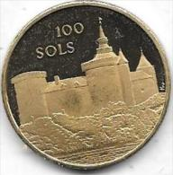 100 SOLS 1982 HERSEAUX - Gemeentepenningen