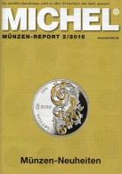 MICHEL Briefmarken Rundschau 2/2016 Neu 6€ New Stamps Of The World Catalogue/magacine Of Germany ISBN 978-3-95402-600-5 - Deutsch