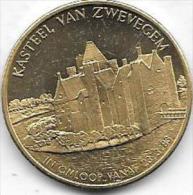 100 SUEVEN 1983 ZWEVEGEM - Gemeentepenningen