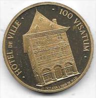 100 VISATUM 1983 HOTEL DE VILLE VISE - Gemeentepenningen