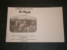MARCINELLE - FABRIQUE DE PIANOS DE HEUQ - België