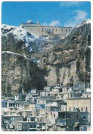 Syrie: Le Couvent St-Serge Surplombe Le Village - Maaloula -  (Syrie/Syria) - Syrië
