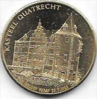 100 WETHRE 1983 KASTEEL QUATRECHT  WETTEREN - Gemeentepenningen